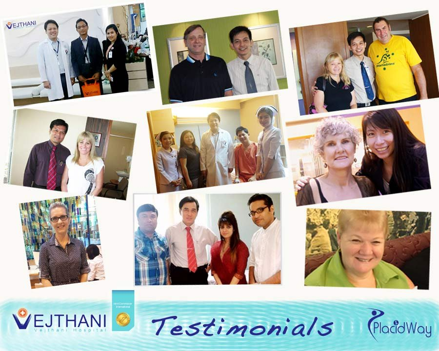Patient Testimonials - Vejthani Medical Hospital Bangkok