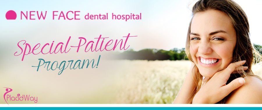 New Face Dental Hospital Special Patient Program- Seoul, South Korea