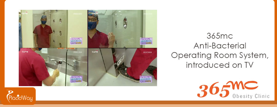 365mc Anti-Bacterial Operating Room System, introduced on TV