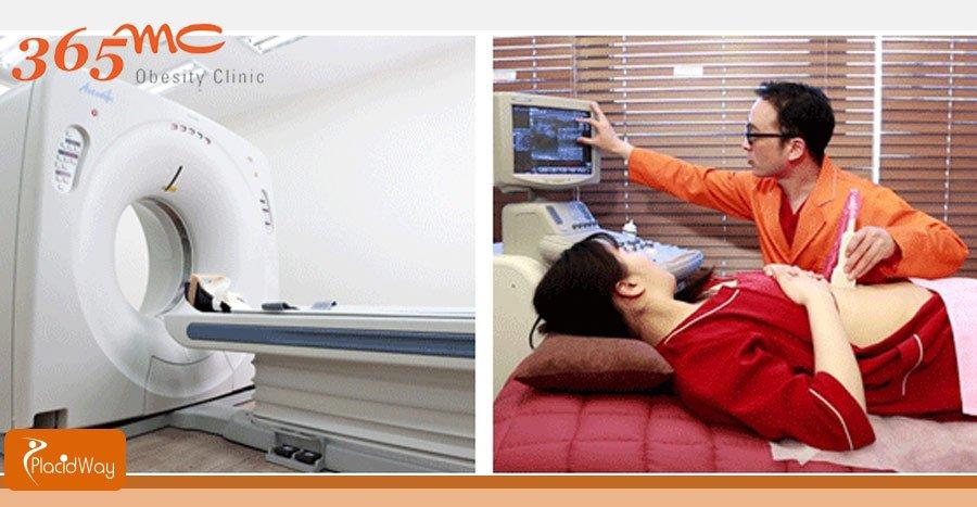 CT Ultasonography Hospital Facilities - Liposuction Clinic - South Korea