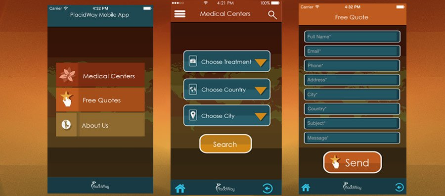PlacidMobile - Global Healthcare Options - Mobile Devices