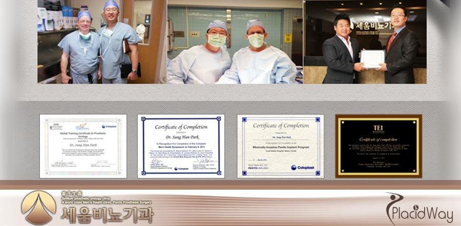 Doctors Accreditations - Sewum Prosthetic Urology Clinic