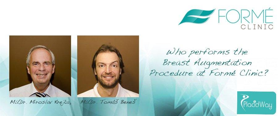 Doctors Breast Augmentation Procedure - Forme Clinic