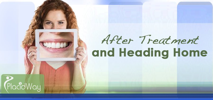 After Treatment Dental Care Mexico