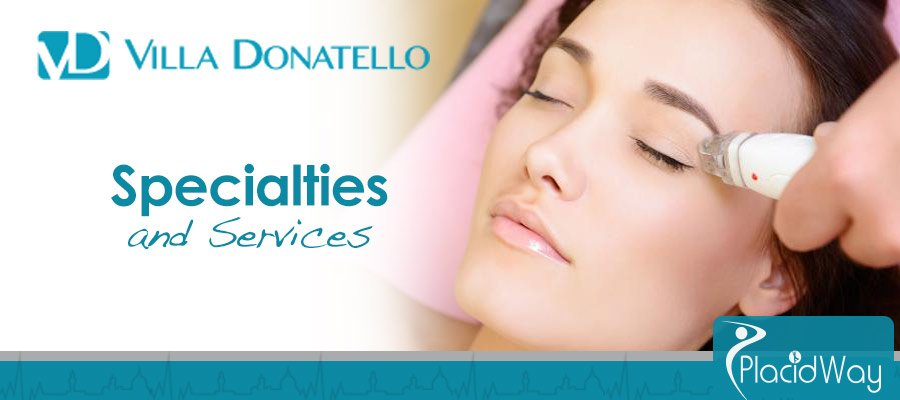 Specialties and Services - Plastic Surgery - Italy