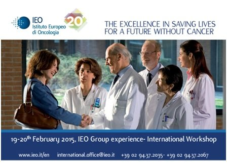 IEO Group Experience- International workshop. Italy, 19-20th February 2015