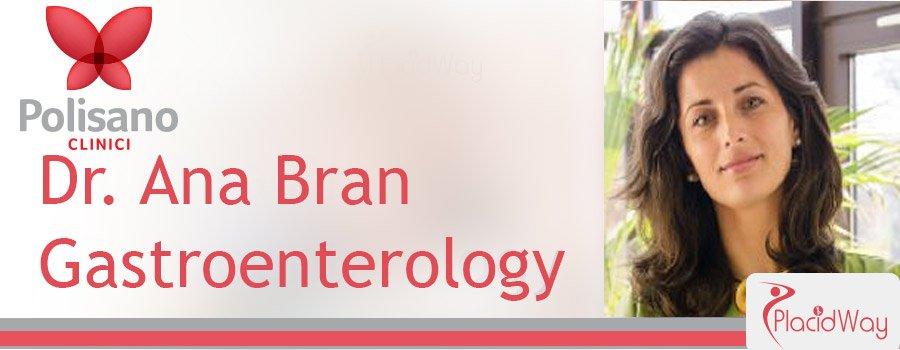 Dr. Ana Bran Gastroenterology Clinica Polisano Romania