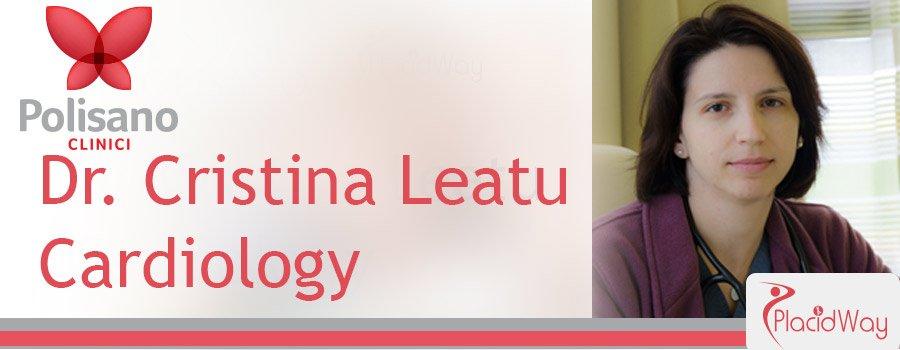 Dr. Cristina Leatu Cardiology Clinica Polisano Romania