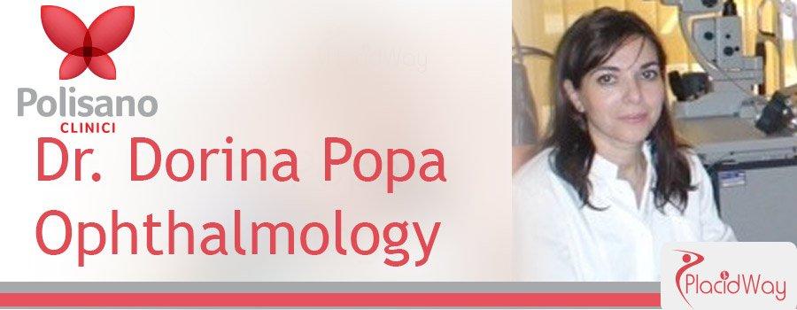 Dr. Dorina Popa Ophthalmology Clinica Polisano Romania