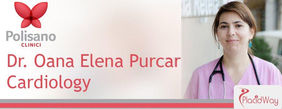 Dr. Oana Purcar Cardiology Clinica Polisano Romania