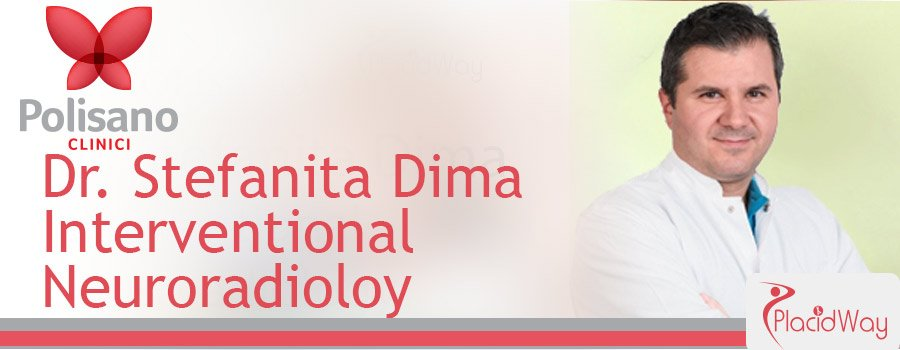 Dr. Stefanita Dima Interventioal Neuroradiology Clinica Polisano Romania