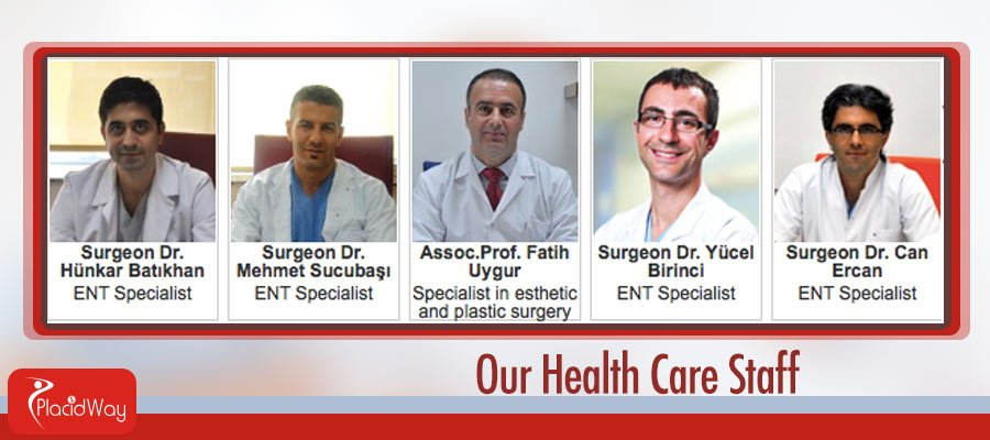 Health Care Staff - EKOL ENT Hospital Turkey