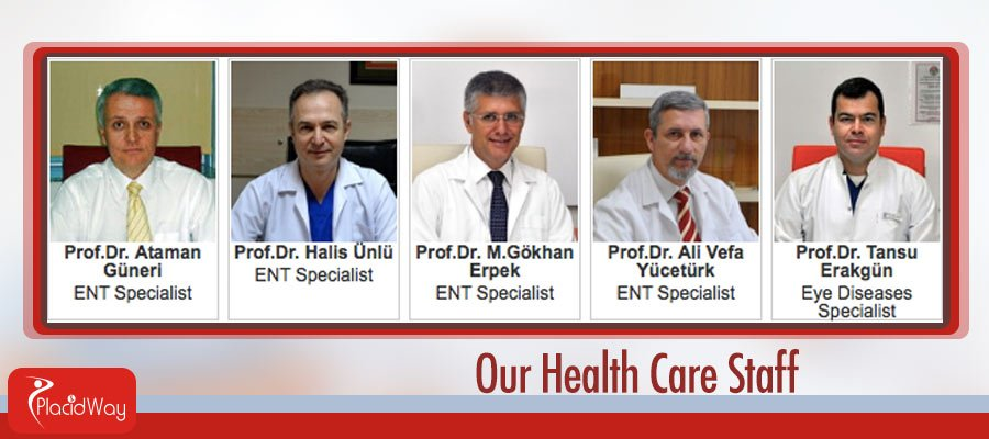 Ear Nose Throat  Eye Disease Specialists - Turkey