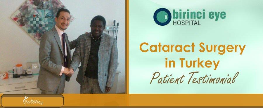 Cataract Surgery Patient Testimonial Turkey
