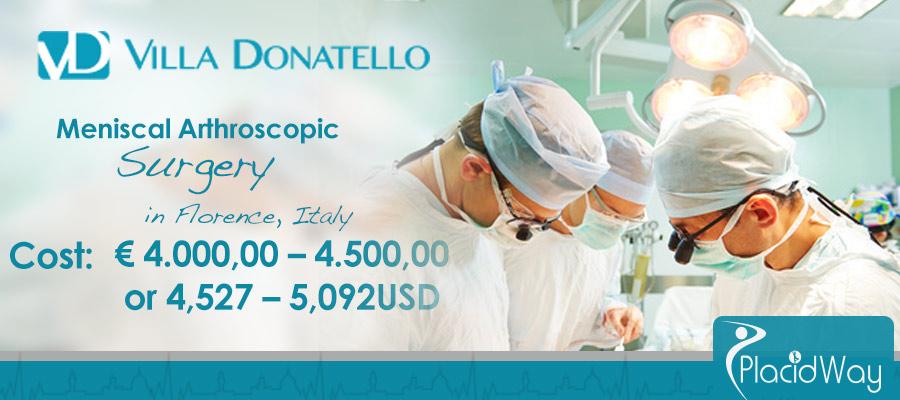 Meniscal Arthroscopic Knee Surgery Italy