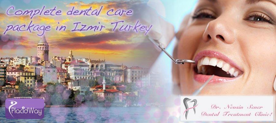 Complete Dental Care Package Izmir, Turkey