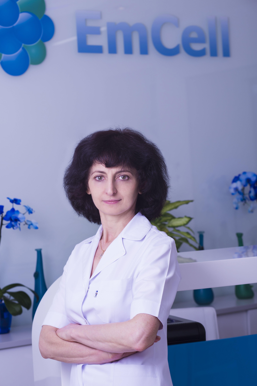 MD Mariya DEMCHUK EmCell Clinic Ukraine