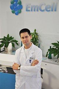 MD Andriy SINELNYK EmCell Clinic Ukraine