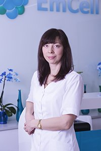 Dr. Nataliya SYCH EmCell Clinic Ukraine