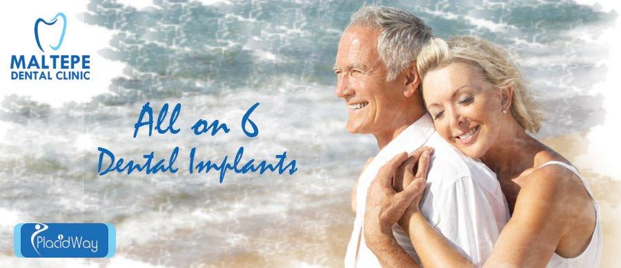 All on 6 Dental Implants Istanbul, Turkey