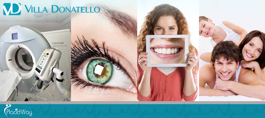 Ophthalmology, Dentistry, Aesthetic Surgery - Italy