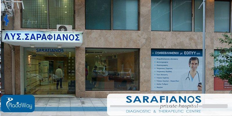 Health Care at Sarafianos Hospital Greece