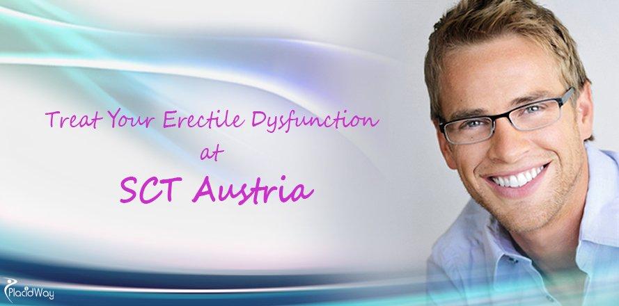 Erectile Dysfunction Treatment, SCT Austria, Vienna