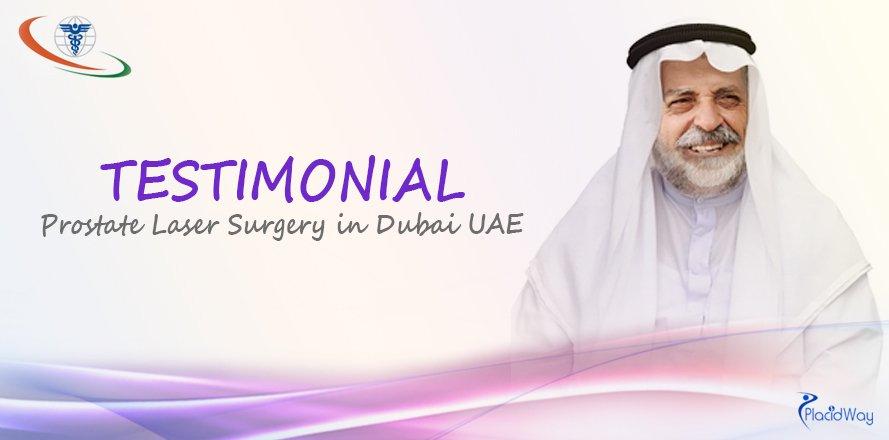Prostate Laser Surgery Abroad, Dubai, UAE