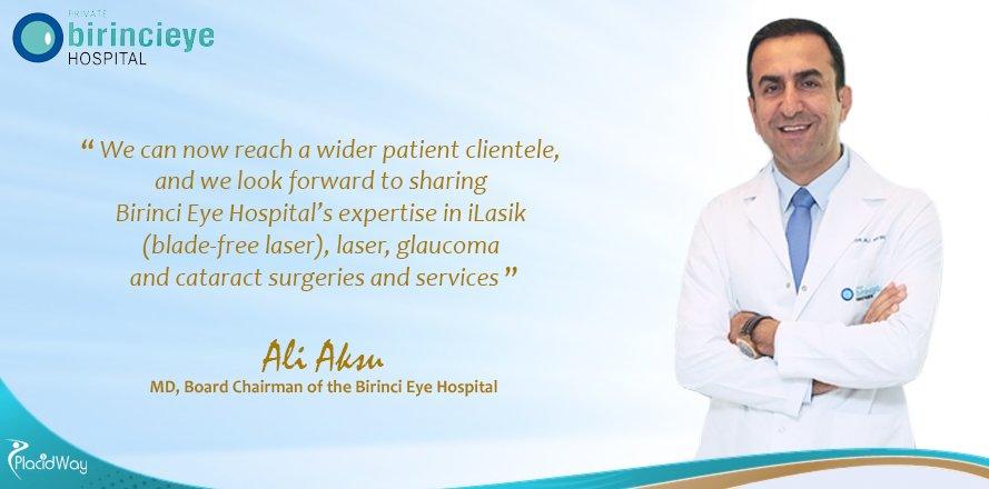 Ophthalmology Treatments Abroad, Eye Care, Birinci Eye Hospital, Turkey