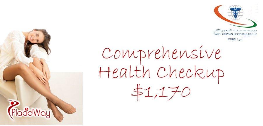 Comprehensive Health Checkup for Women Saudi German Hospital Group