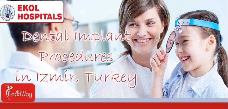 Dental Implant in Izmir, Turkey at Ekol Hospital