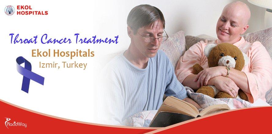 Throat (Laryngeal) Cancer Treatment at Ekol Hospitals in Izmir, Turkey