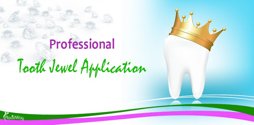 Professional Tooth Jewel Application, Dental Treatments in Asia