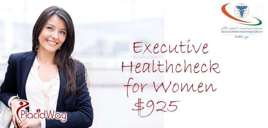 Executive Health Checkup for Women Saudi German Hospital Group