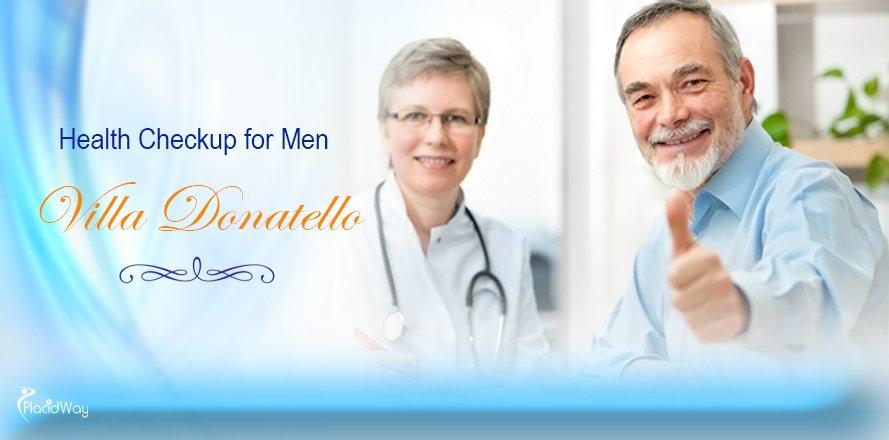 Health Checkup for Men at Villa Donatello Italy