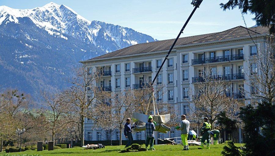 Swiss Triennial Festival of Sculpture Bad Ragaz
