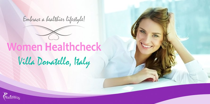 Women Healthcheck at Villa Donatello Italy