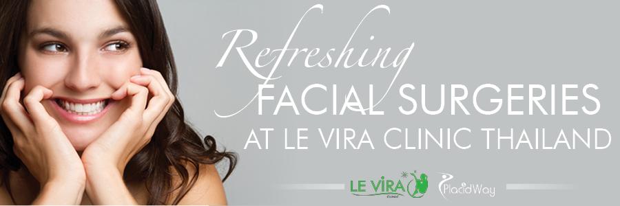 Face Lift Procedures at Le Vira Clinic Thailand