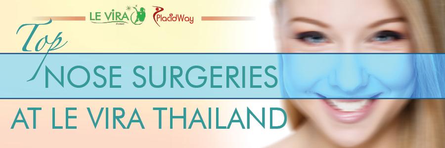 Nose Surgeries at Le Vira Thailand