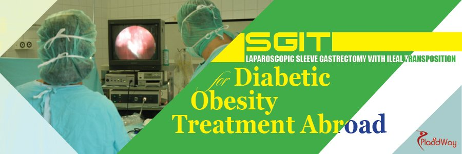 Laparoscopic sleeve gastrectomy with ileal transposition (SGIT)
