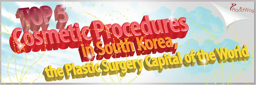 Top 5 Cosmetic Procedures in South Korea