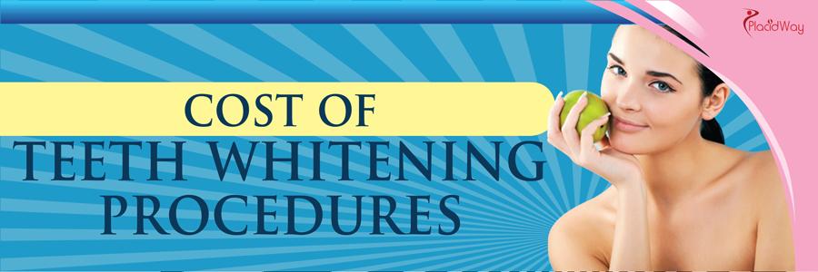Dentistry - Teeth Whitening Treatment Cost