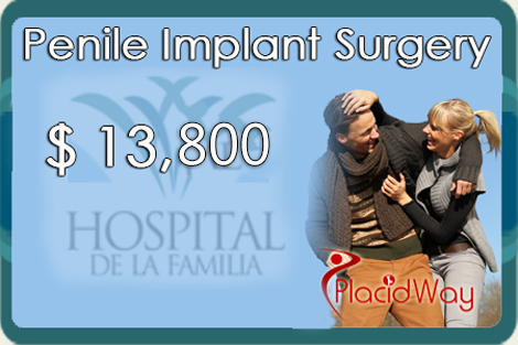 Best Package for Penile Implants in Mexicali, Mexico by Hospital de la  Familia
