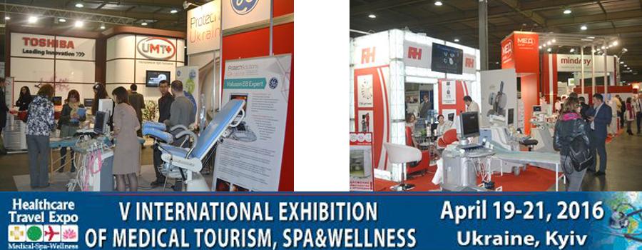 Vth Anniversary International Exhibition of Medical Tourism, SPA & Wellness - Healthcare Travel Expo, Kyiv, Ukraine