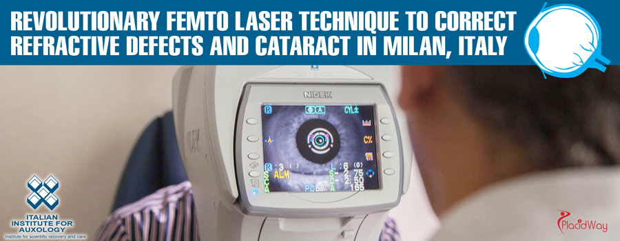 FemtoLaser Technique to Correct Refractive Defects and Cataract