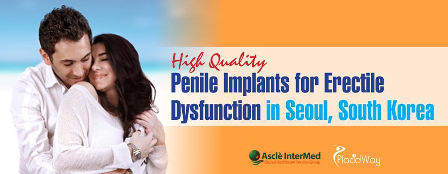 Penile implants in Seoul, South Korea