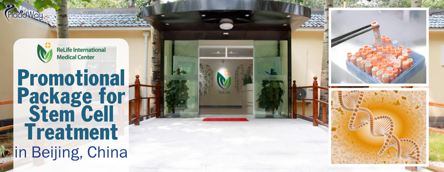 Promotional Package for Stem Cell Treatment in Beijing, China