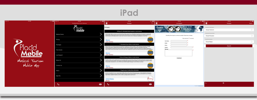 PlacidWays PlacidMobile 2015 version 2.0 iPad