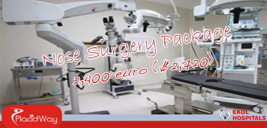 Nose Surgery Package in Izmir, Turkey at Ekol Hospital