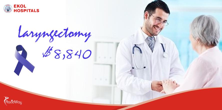 Laryngectomy, Cancer Treatment, Ekol Hospitals, Izmir, Turkey